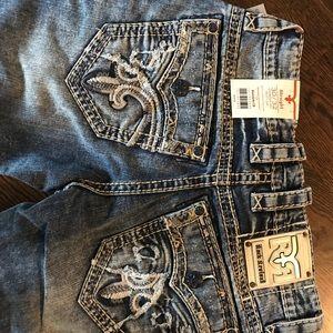NWT Rock Revival Men's Pruitt Jeans